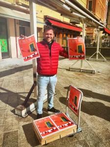 Happening Nice Eric Garence Artiste Niçois Affiche Niki de Saint Phalle free