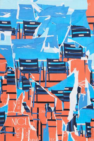 Phoenix Eric Garence Exposition Artiste Niçois Contemporain nouveau réaliste Affichiste