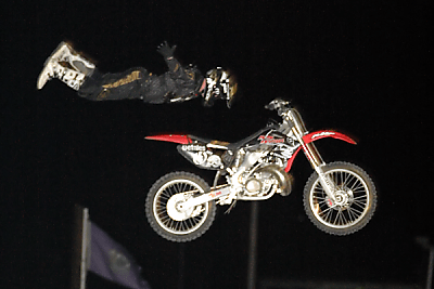 Rock Solid, Freestyle Motocross at Oxford Plains Speedway