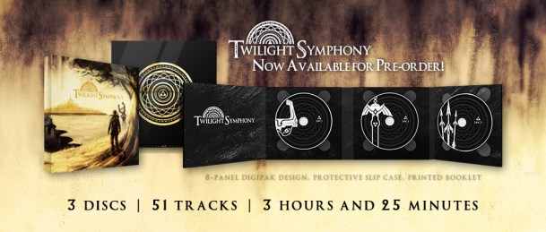 Limited Edition Twilight Symphony Physical Album