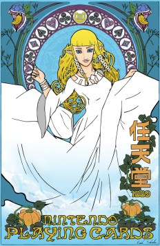 Zelda: Skyward Sword Art Nouveau