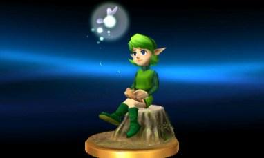 Saria (Zelda) Trophy.