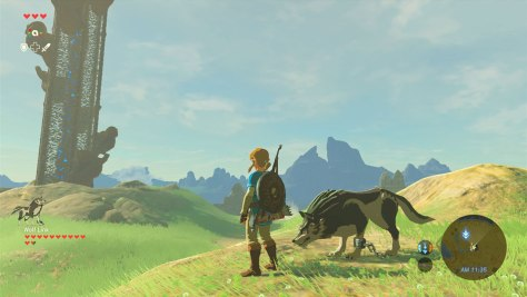 Wolf Link in Breath of the Wild