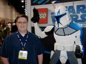 Chris and Boba Fett Lego man
