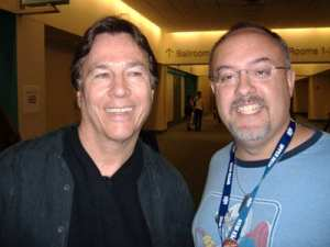 Eric and Richard Hatch from Battlestar Galactica