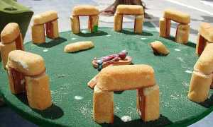 Twinkie Stonehenge