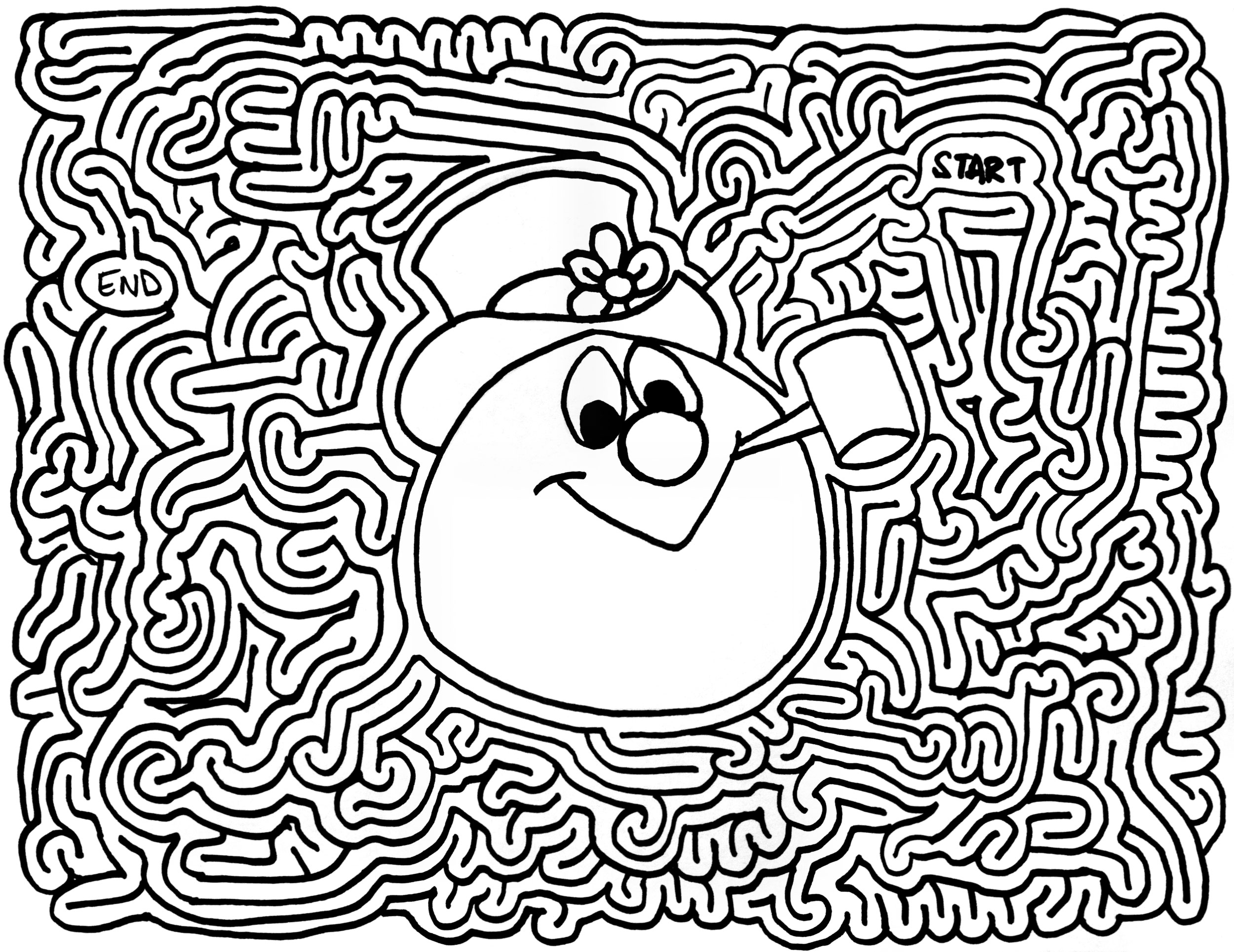 Mazes Frosty The Snowman