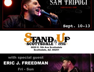 Stand Up Scottsdale w/ Sam Tripoli