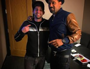 Me with Mike Epps after I opened up his late show at The Irvine Improv