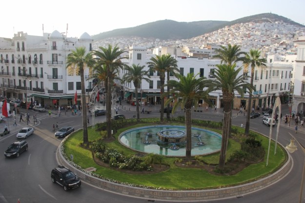 The square beneath our hotel in Tetouan during the daytime. We spent the day playing in the nearby Mediterranean, so I took very few photos on this trip; nonetheless it was a beautiful city and a splendid experience.