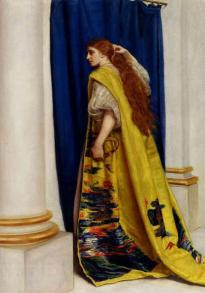 """Esther"" by John Everett Millais"