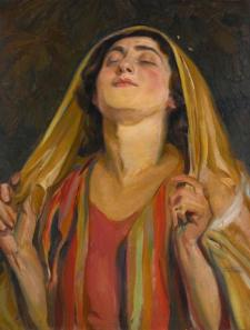 "Wilhelm Wachtel's ""Hannah at Prayer"""