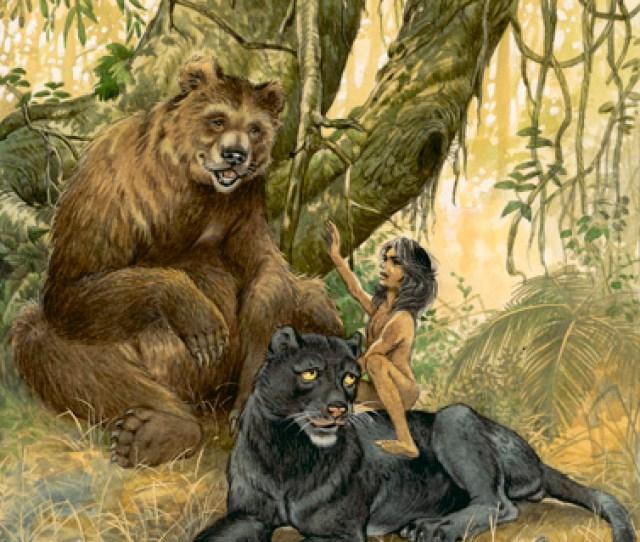 Bagheera Baloo Mowgli