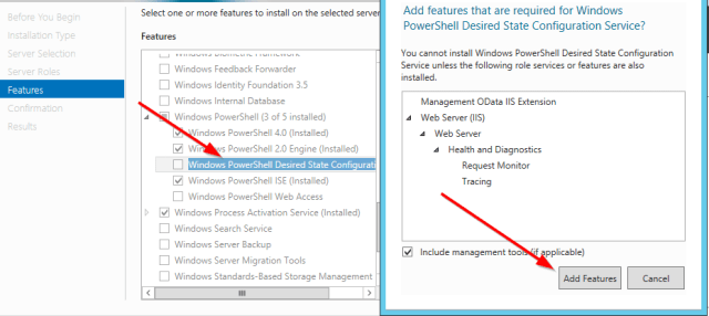 Add windows Feature