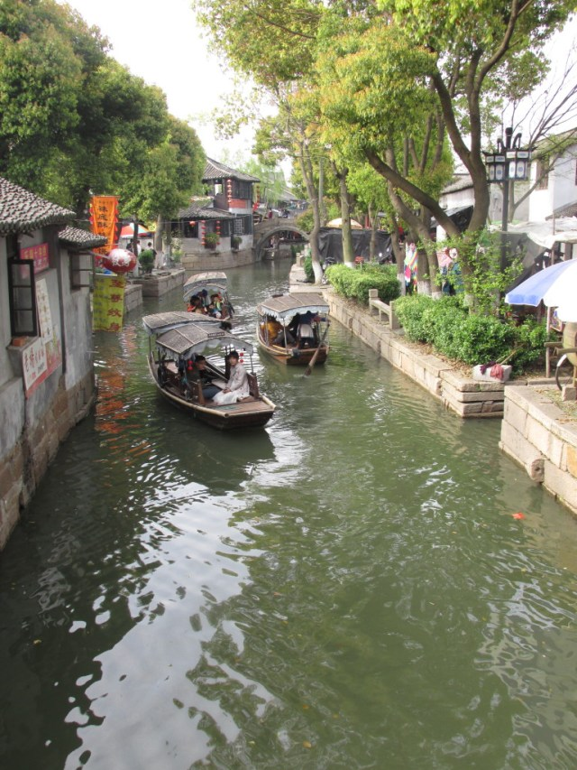 Typical canal scene in LuZhi.