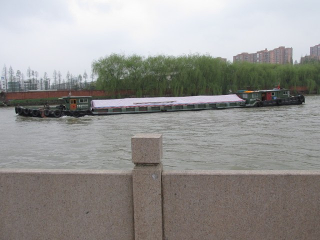 Barge on the Grand Canal