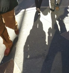 Feet & Shadows on 5th Avenue