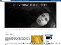 "Guest post on ""Quivering Daughters"""