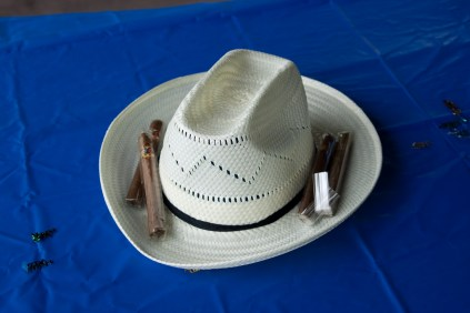 Cigar and Hat Party Favors