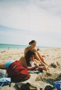 Julia on the Beach