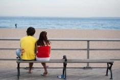 Lovers on the Boardwalk
