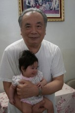 Scarlett with her Great Grandfather