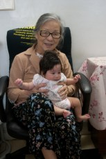 Scarlett with her Great Grandmother