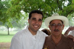 Another Photo of Dan and Abuelo