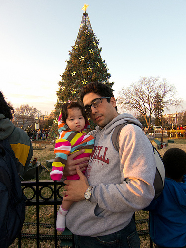 At the National Christmas Tree
