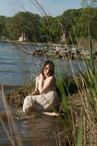 Resting near the shore