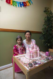 Dina made the cake!