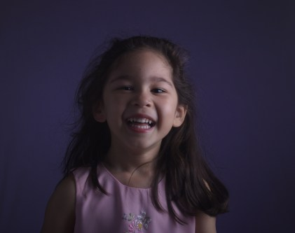 Scarlett's Purple Easter Photos