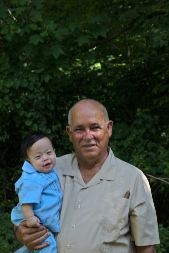 Sam and his Great-Grandfather