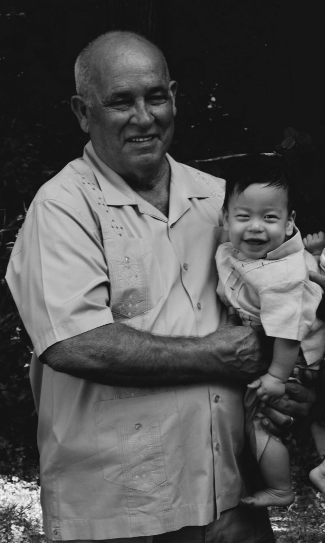 Sam with his Great-Grandfather again