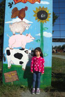 Annual Farm Height Measurement: Scarlett