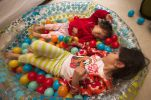 Sisters in the Ball Pit