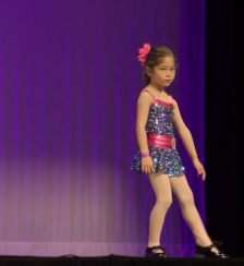 The tap portion of the recital