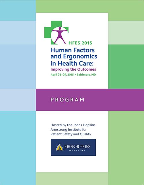2015 Health Care Symposium Program Cover