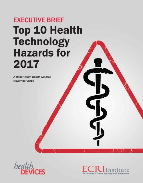 ecri-institute-top-10-health-technology-hazards-for-2017
