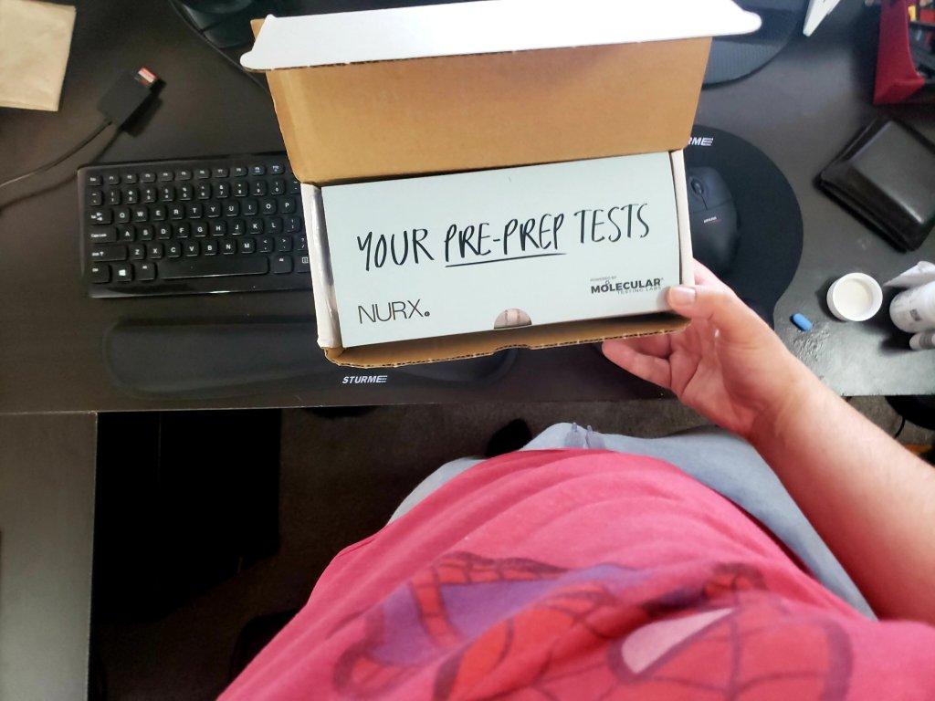 Nurx prep test kit