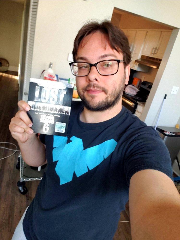 Eric Shay Howard and his Lost Season 6 Blu-Ray