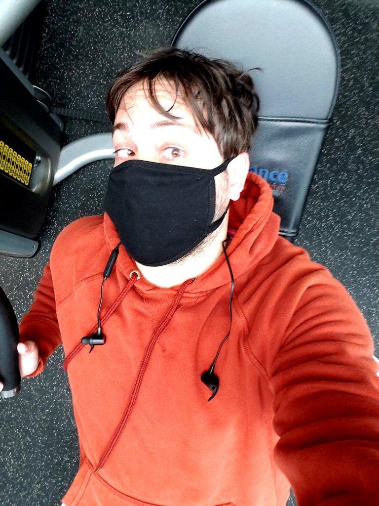 Eric Shay Howard at gym