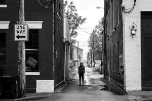 Black And White Street Photography In Louisville