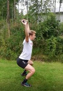 Stretchning efter träning