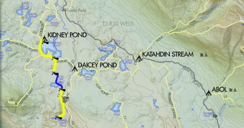 Lily Pad Pond Trail Map