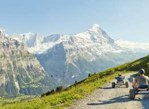 Mountain Carts at First-Grindelwald