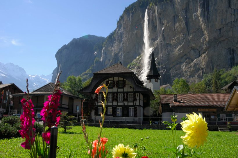 Lauterbrunnen Valley on a SUNNY day!