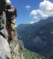 Via Ferrata from Murren to Gimmelwald
