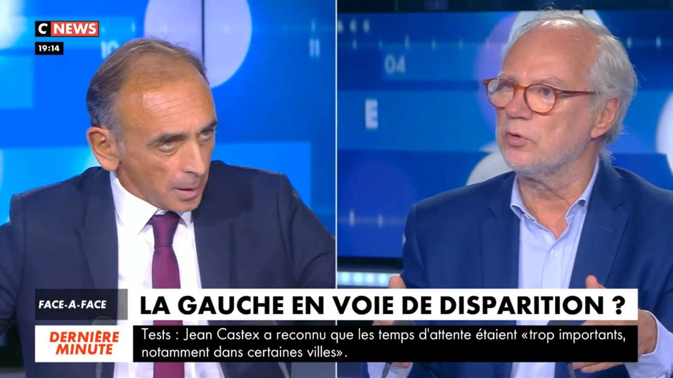 Face A L Info 11 Septembre 2020 Hd Eric Zemmour Vs Laurent Joffrin Cnews Le Blog D Eric Zemmour