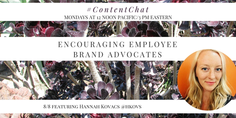 Hannah Kovacs Content Chat